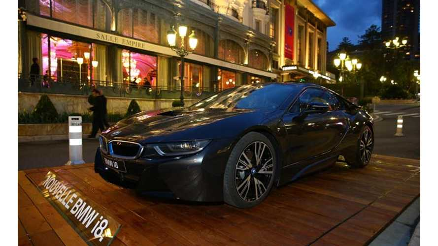 BMW i3 and BMW i8 Showcased at Energy Efficiency Forum 2014 in Monaco