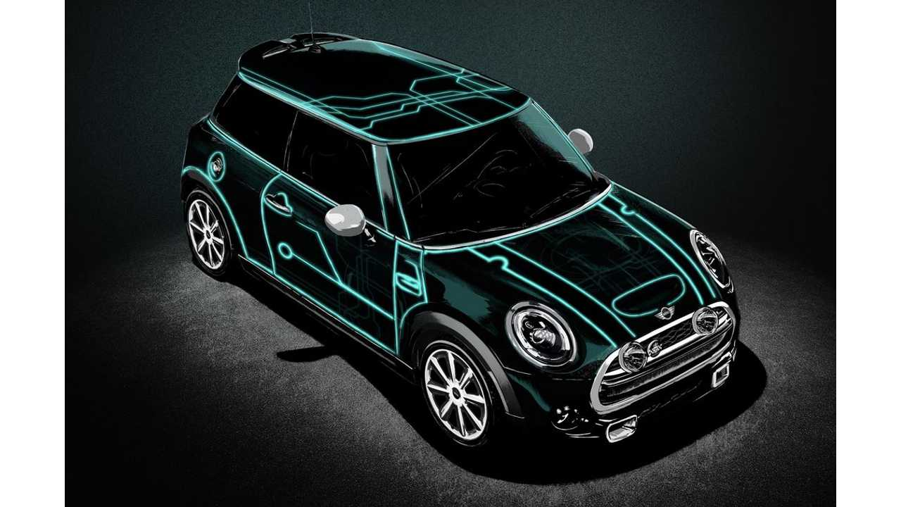 This Tron-Inspired Mini Cooper Should Be A Plug-In Electric Vehicle