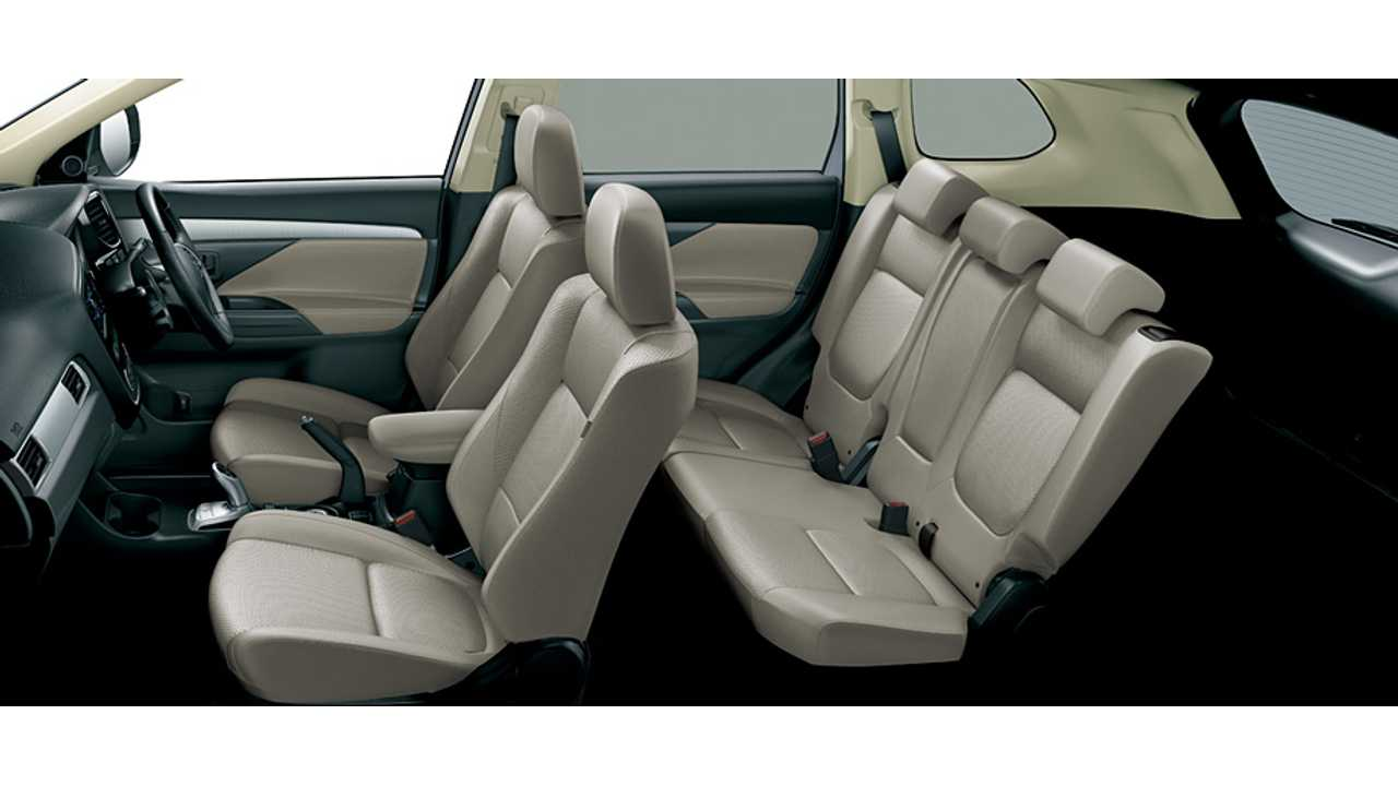 New 2015 Mitsubishi Outlander PHEV Interior Option Coming Soon In Japan...Not So Much In The US