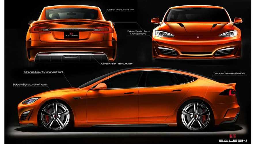 Saleen Tesla Model S - More Images and Details