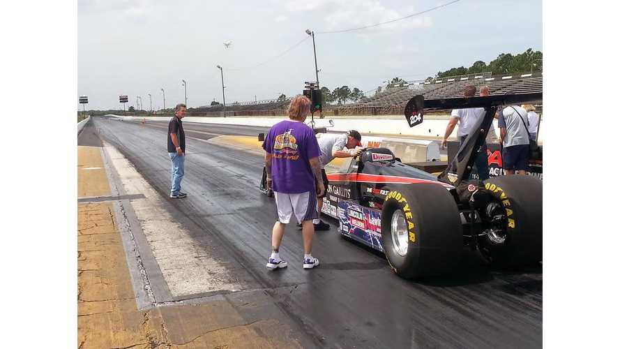 """Big Daddy"" Don Garlits Pilots SR-37 Quest EV Dragster To Record-Shattering 184.01 MPH In 1/4 Mile On Batteries"