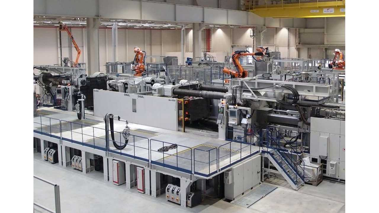High Demand Prompts BMW to Order 2 More Engel Molding Machines For i3 Body