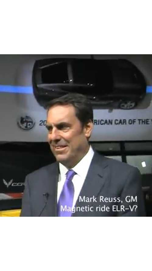 General Motors' Mark Reuss Responds to Question: Will There Be a Cadillac ELR-V? - Video
