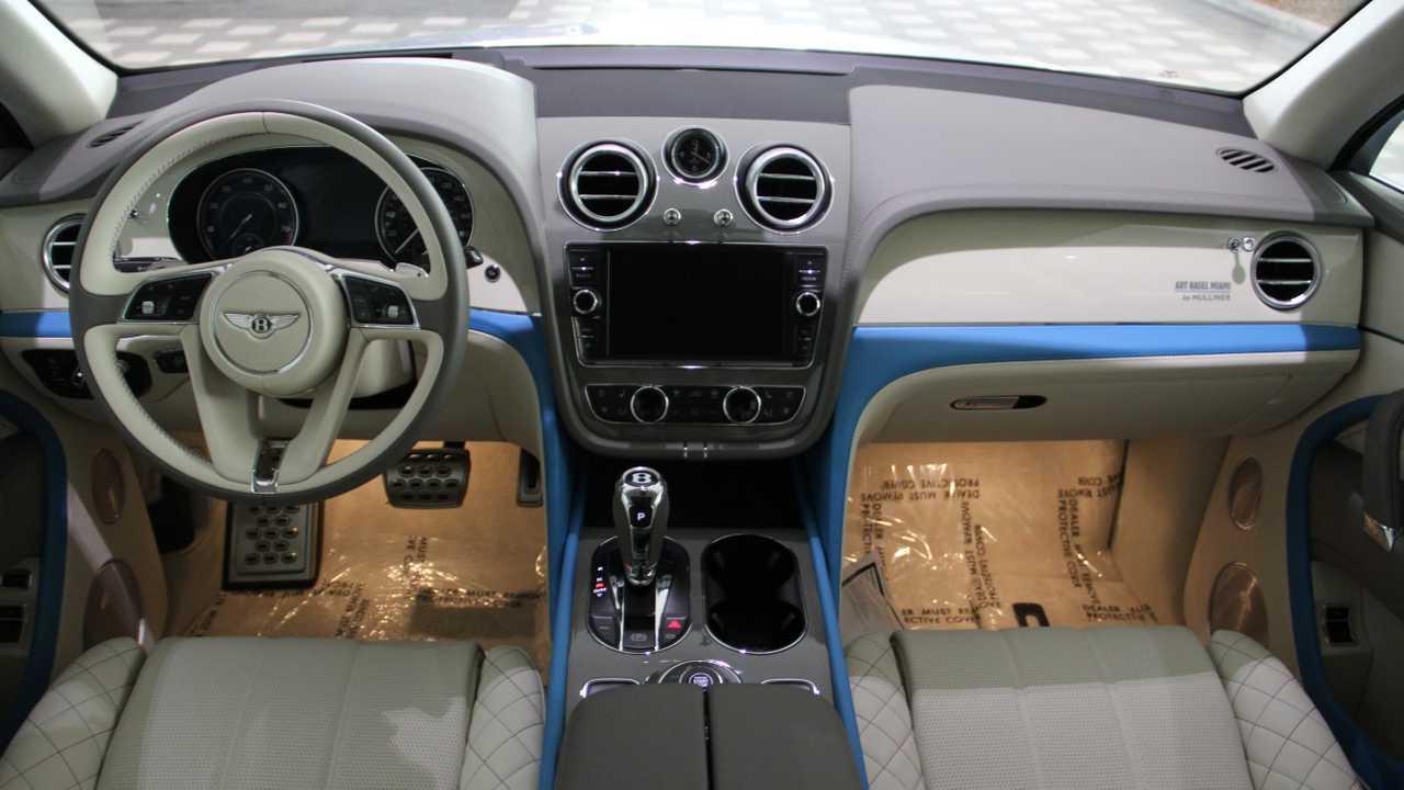 Bentley Bentayga Art Basel Edition