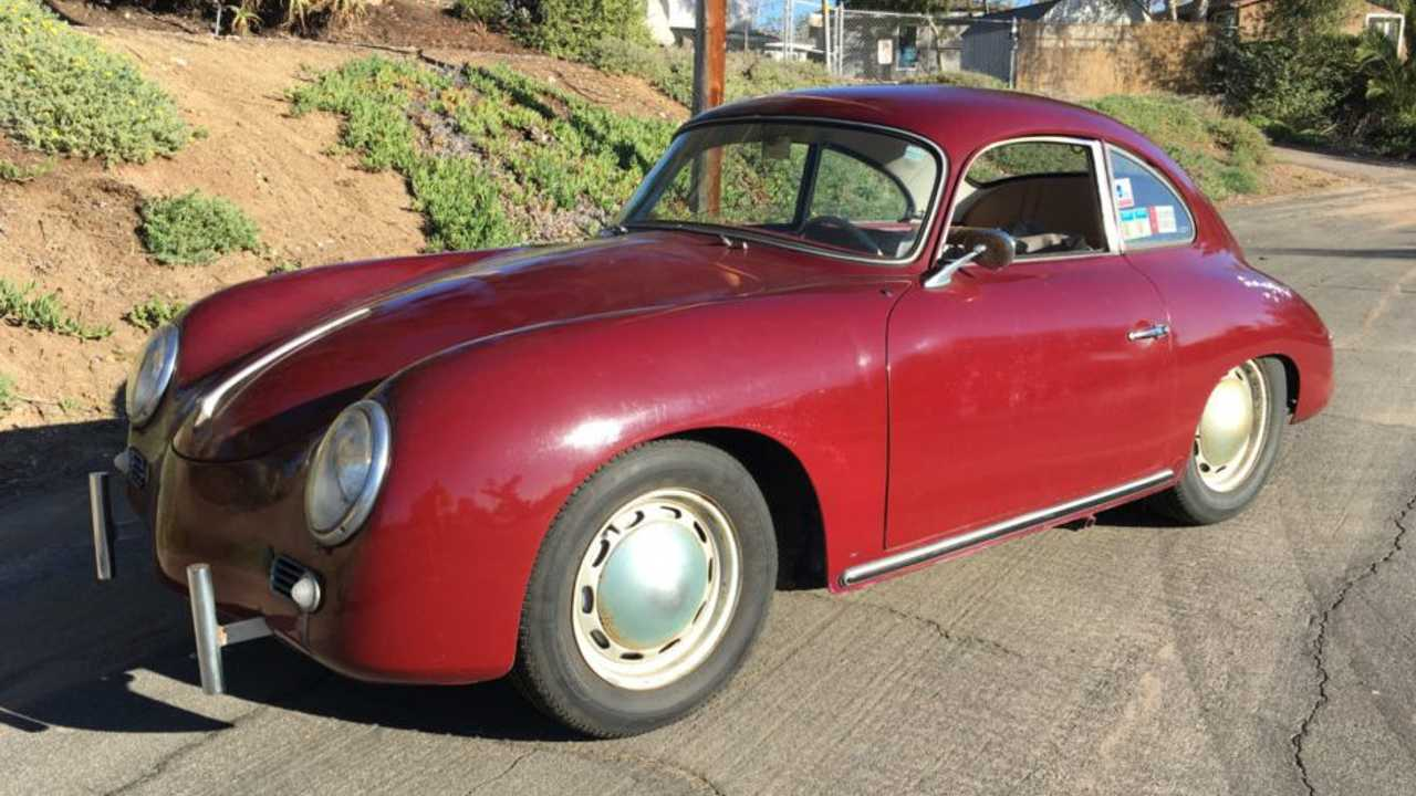 1957 Porsche 356 A 1600 Coupe – current bid at $47,000