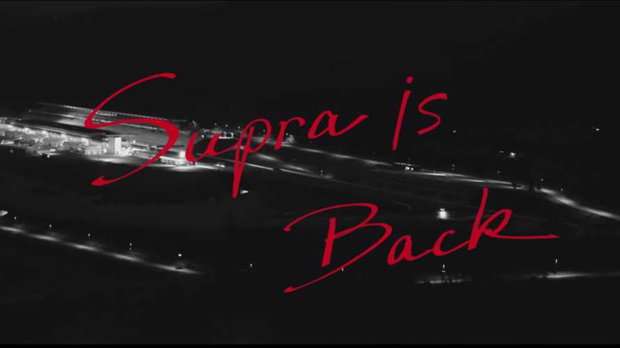 Toyota Supra is back on track in latest teaser