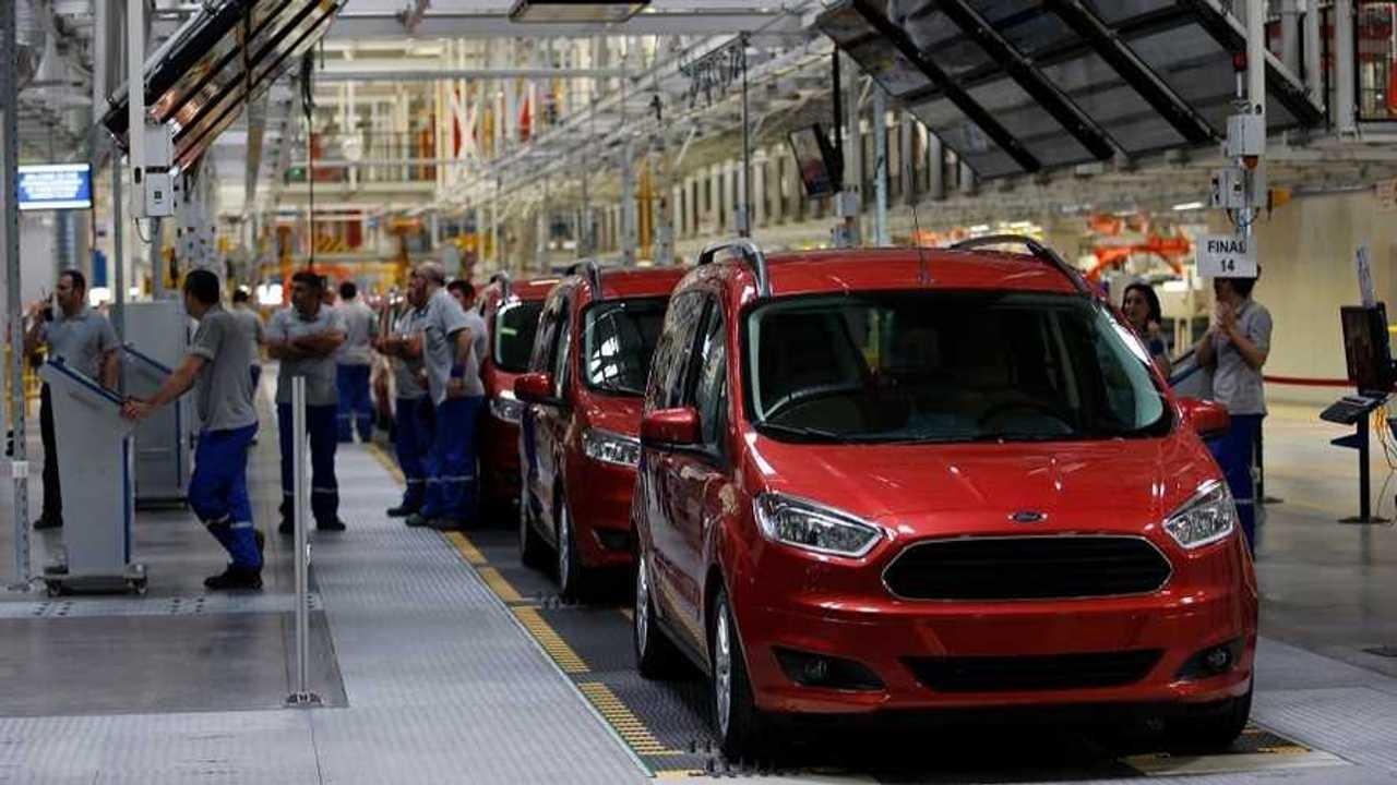 Ford Tourneo Courier (makyajsız) üretim