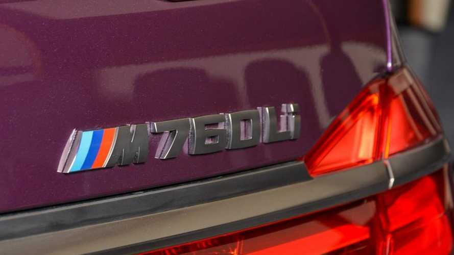 BMW M760Li Individual Purple Silk