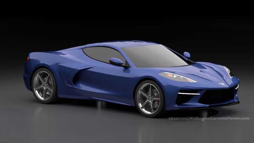 Mid-Engined Corvette Detailed In New 360-Degree Rendering