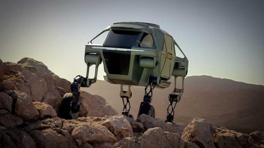 Hyundai Elevate - Quatre jambes pour marcher !