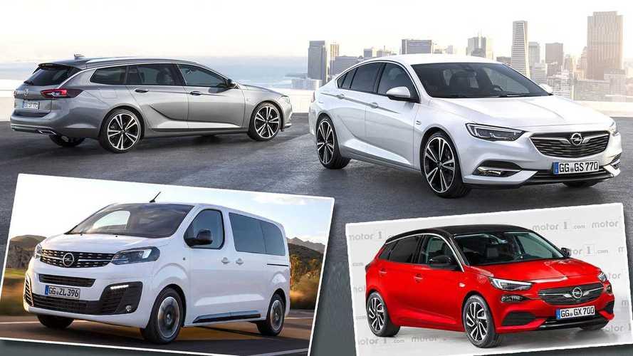6 novedades y 3 bajas de Opel, en 2019 y 2020