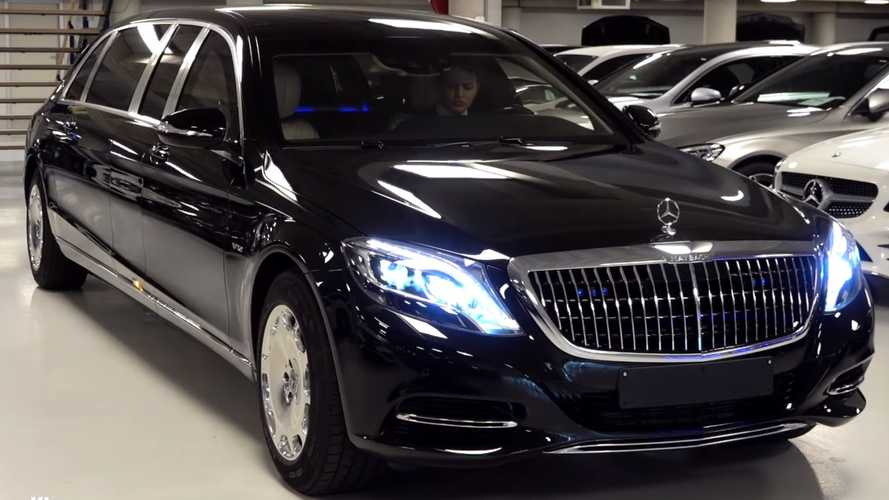 Rare look at the 2019 Mercedes-Maybach S600 Pullman Guard