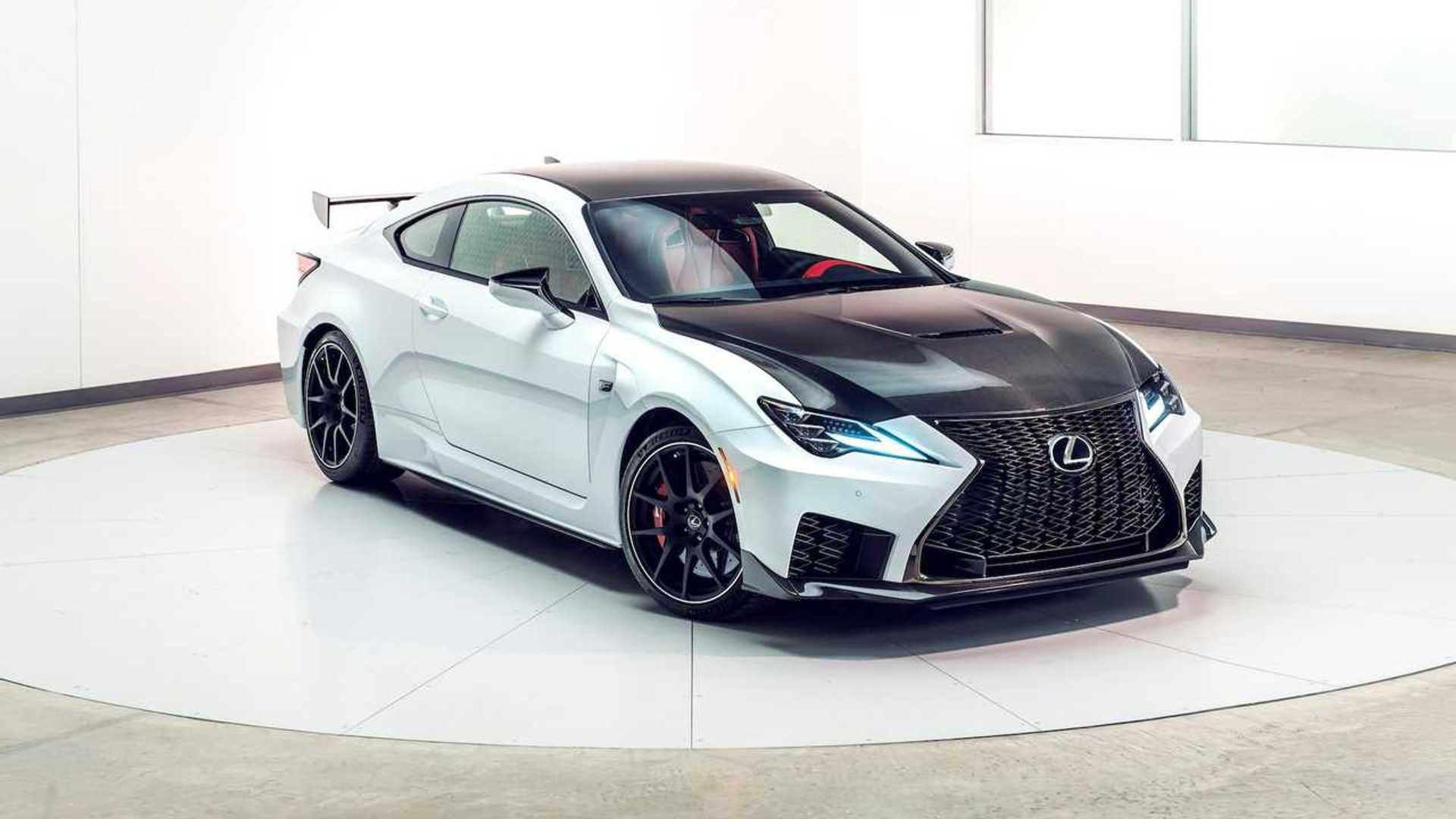 Lexus RC Facelift (2018) 46