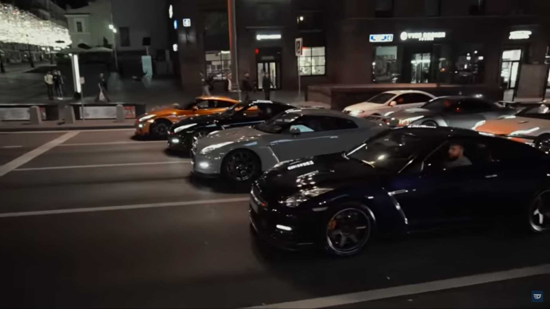 Godzilla invasion: 40 Nissan GT-Rs come together in Russia