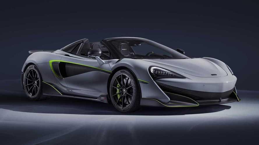 McLaren 600LT'nin üretimi duruyor