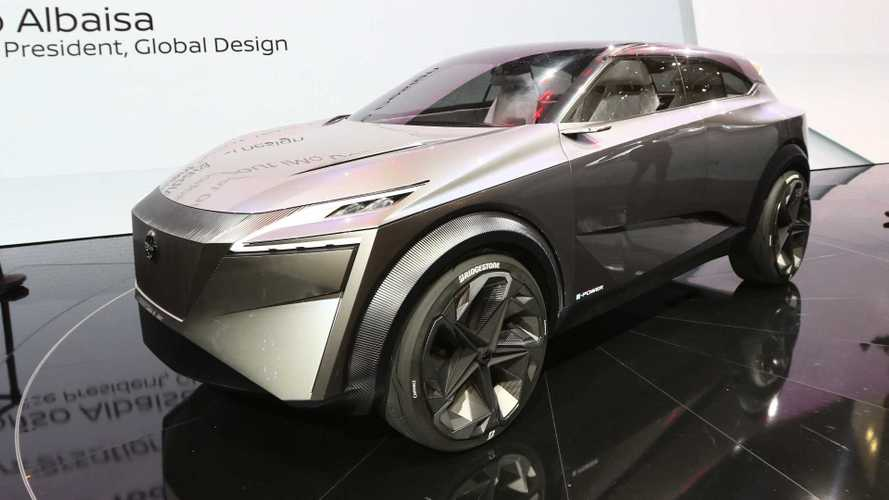 Nissan's electric IMQ crossover concept revealed in Geneva