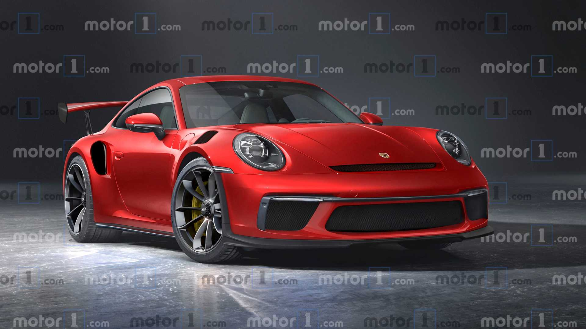 New Porsche 911 GT2 RS Render Tries To See Into The Future