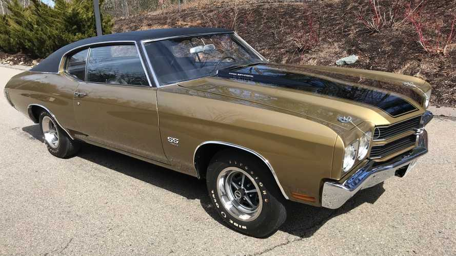 This 1970 Chevrolet Chevelle SS LS6 Is A Rubber Melting Monster