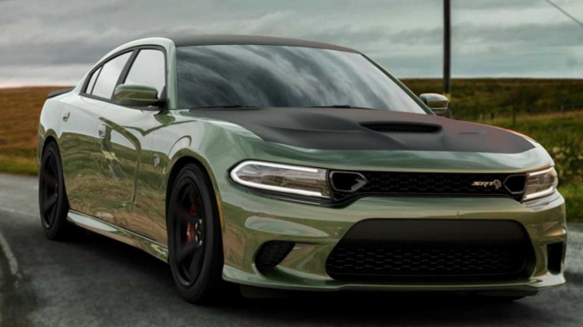 Primp Your Dodge Charger Srt Hellcat With Satin Black Package