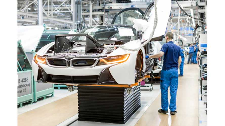 BMW i8 Production Now Underway - Detailed Images