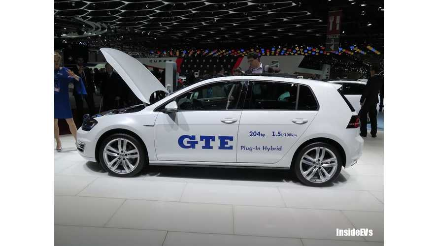 Volkswagen Golf GTE - World Debut at Geneva Motor Show