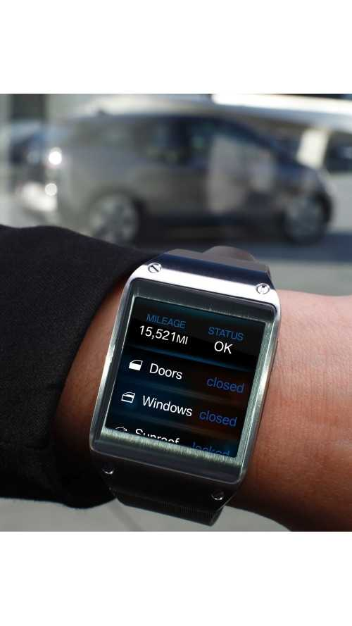 Videos: BMW i3 Samsung Galaxy Gear App