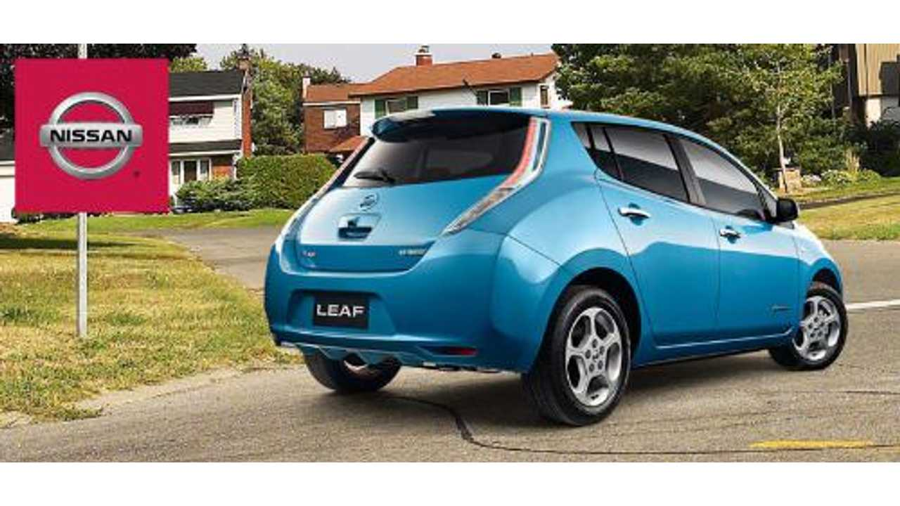 Nissan LEAF Sales in December Hit Record High of 2,529 - Production Capacity Excuses Lifted For 2014