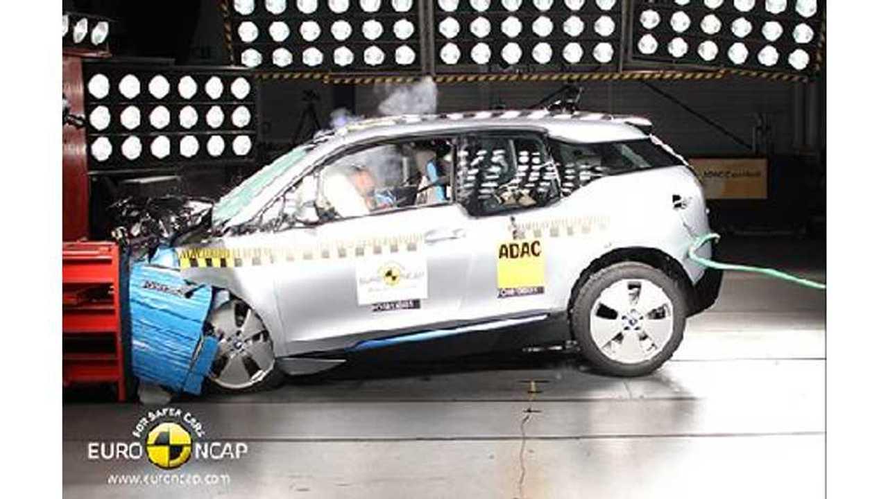 BMW Responds to Euro NCAP 4-Star Rating by Saying i3 Basically Got 5 Stars