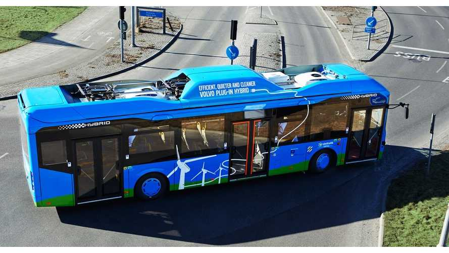Volvo: Plug-in Hybrid Bus Reduces Fuel Consumption By 81%, Total Energy By Over 60% (w/video)