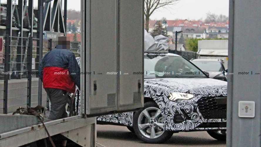 Audi Q4 (2019): Neue Erlkönigbilder