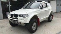 Dakar Yarışlarına Göre Modifiye Edilmiş BMW X3