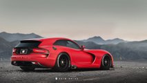dodge viper shooting brake rendering