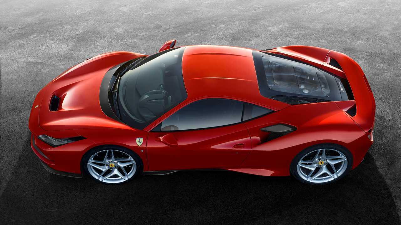 Ferrari F8 Side