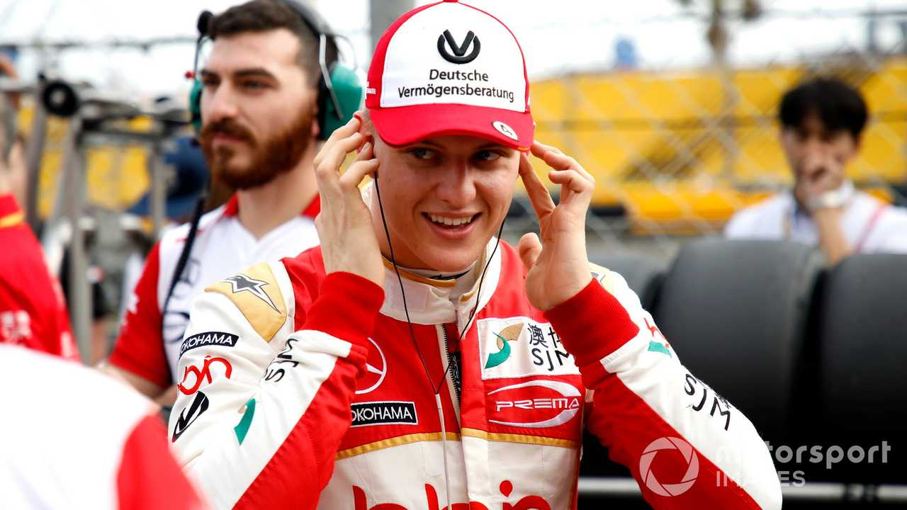 Mick Schumacher at F3 Macau GP 2018