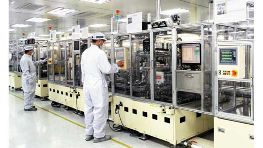 LG Chem Battery Plant Now Making Chevrolet Volt And Focus Electric Batteries