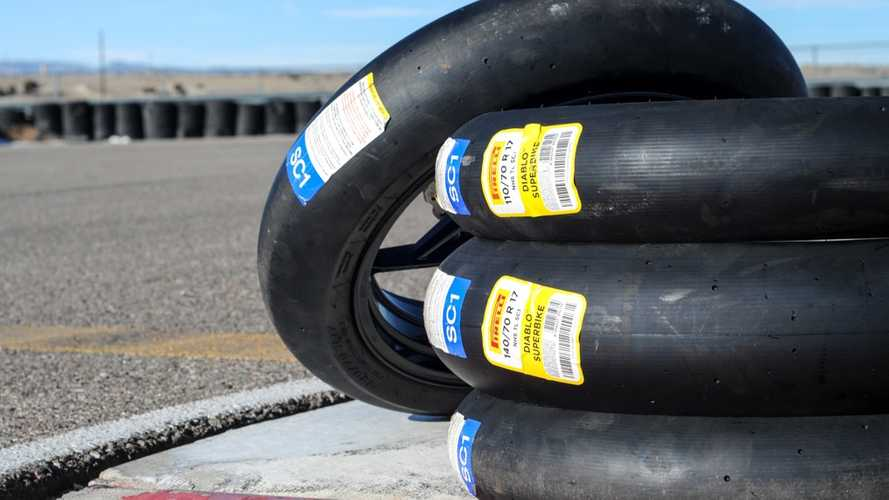 Pirelli  Introduces Smaller Superbike Slicks