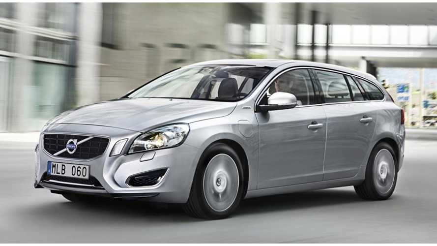 Production of Volvo V60 Plug-In Hybrid to Increase Substantially in 2014