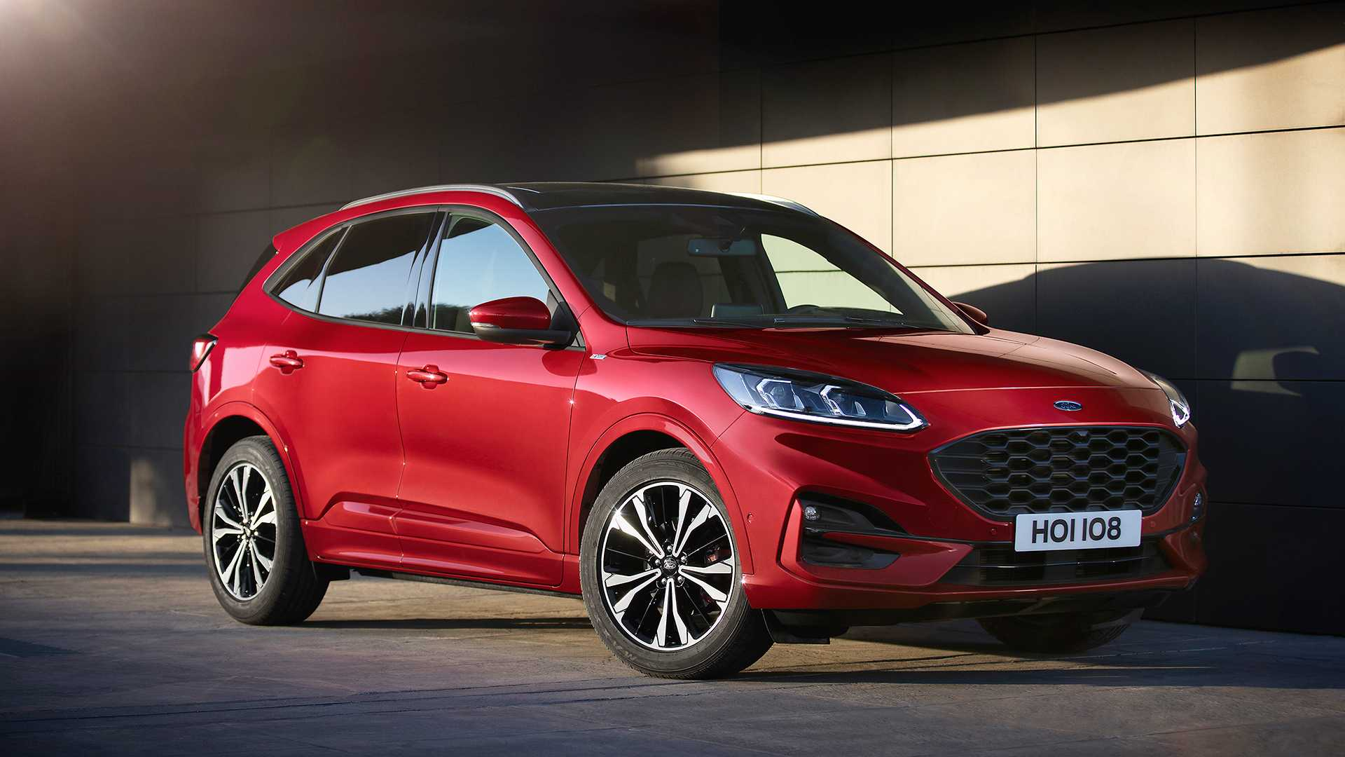2020 Ford Kuga Debuts With Whole New Look Two Hybrid Choices