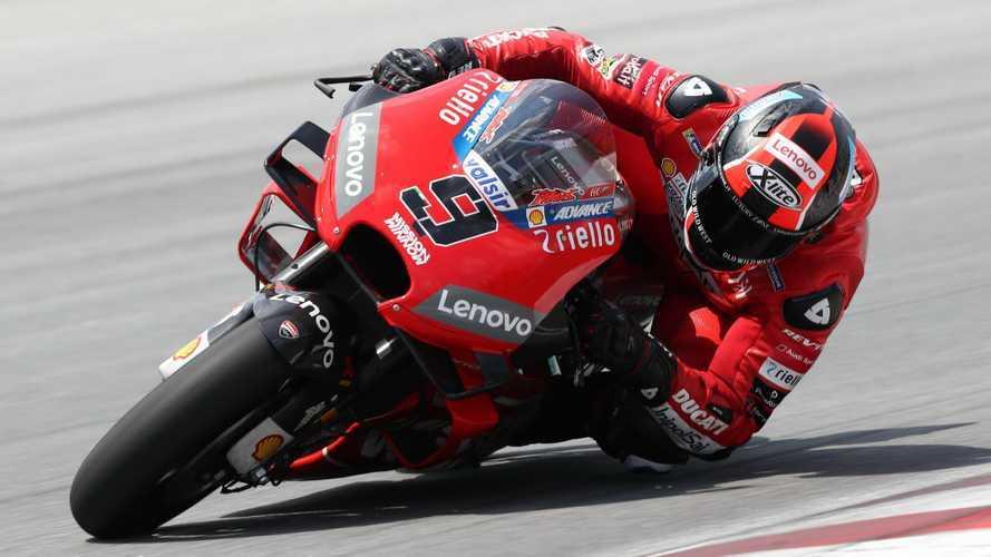 Ducati da record nei test MotoGP di Sepang