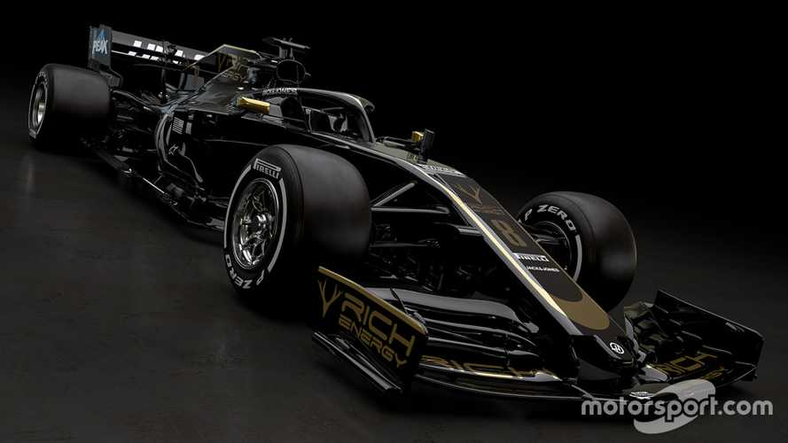 Haas unveils new livery with first 2019 car reveal