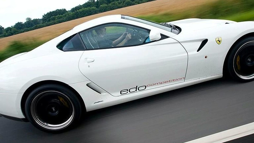 "Is ""Rosso Corsa"" Passe? Edo Competition Shows White 599 GTB Teaser"