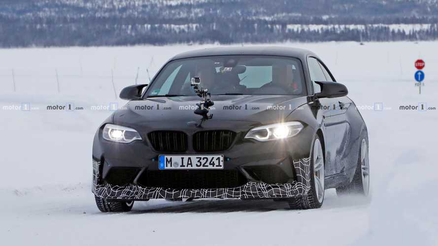 Fotos espía BMW M2 CS/CSL 2019