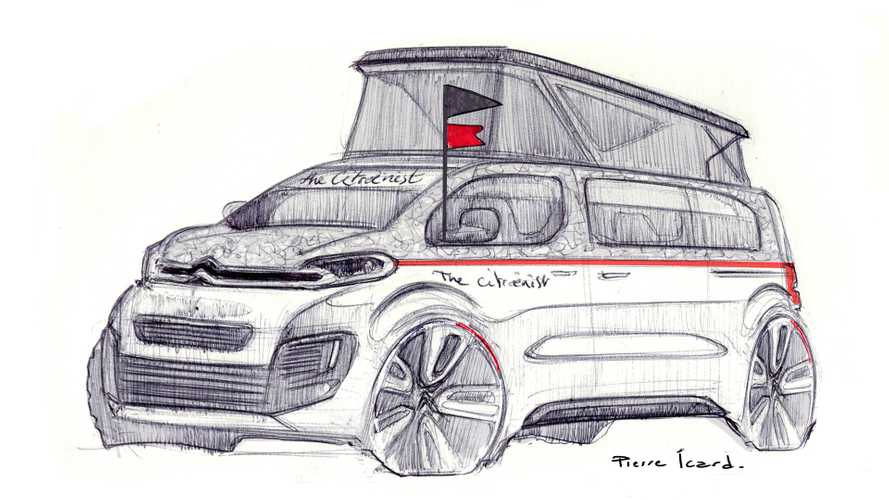 Citroen Spacetourer The Citroenist Concept