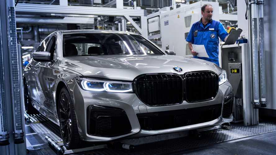La BMW Série 7 restylée entre en production