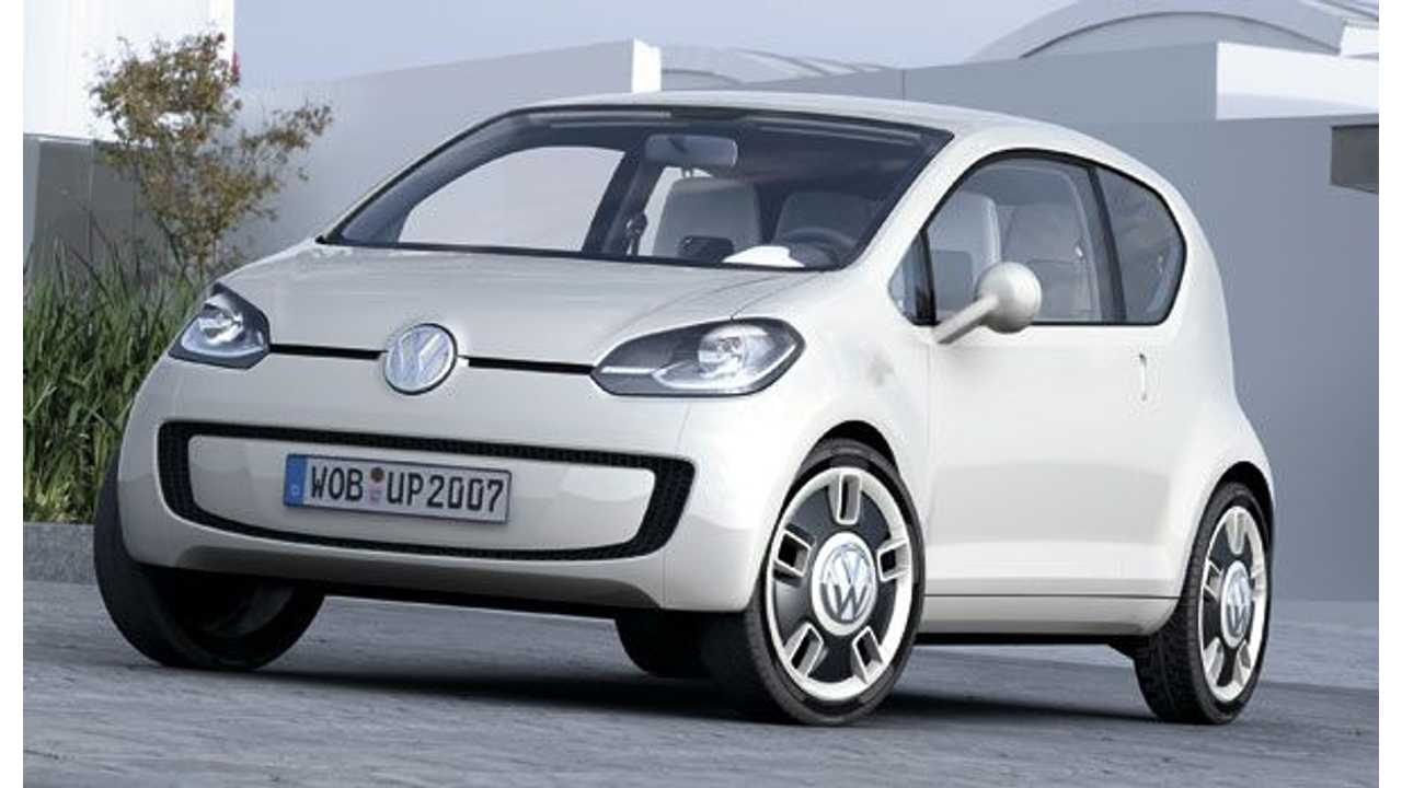 VW Officially In Electric Car Business As Electric Up! (E-Up!) Confirmed For Production