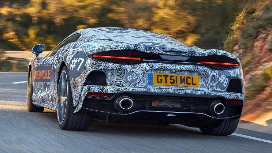 McLaren Grand Tourer: teaser oficial