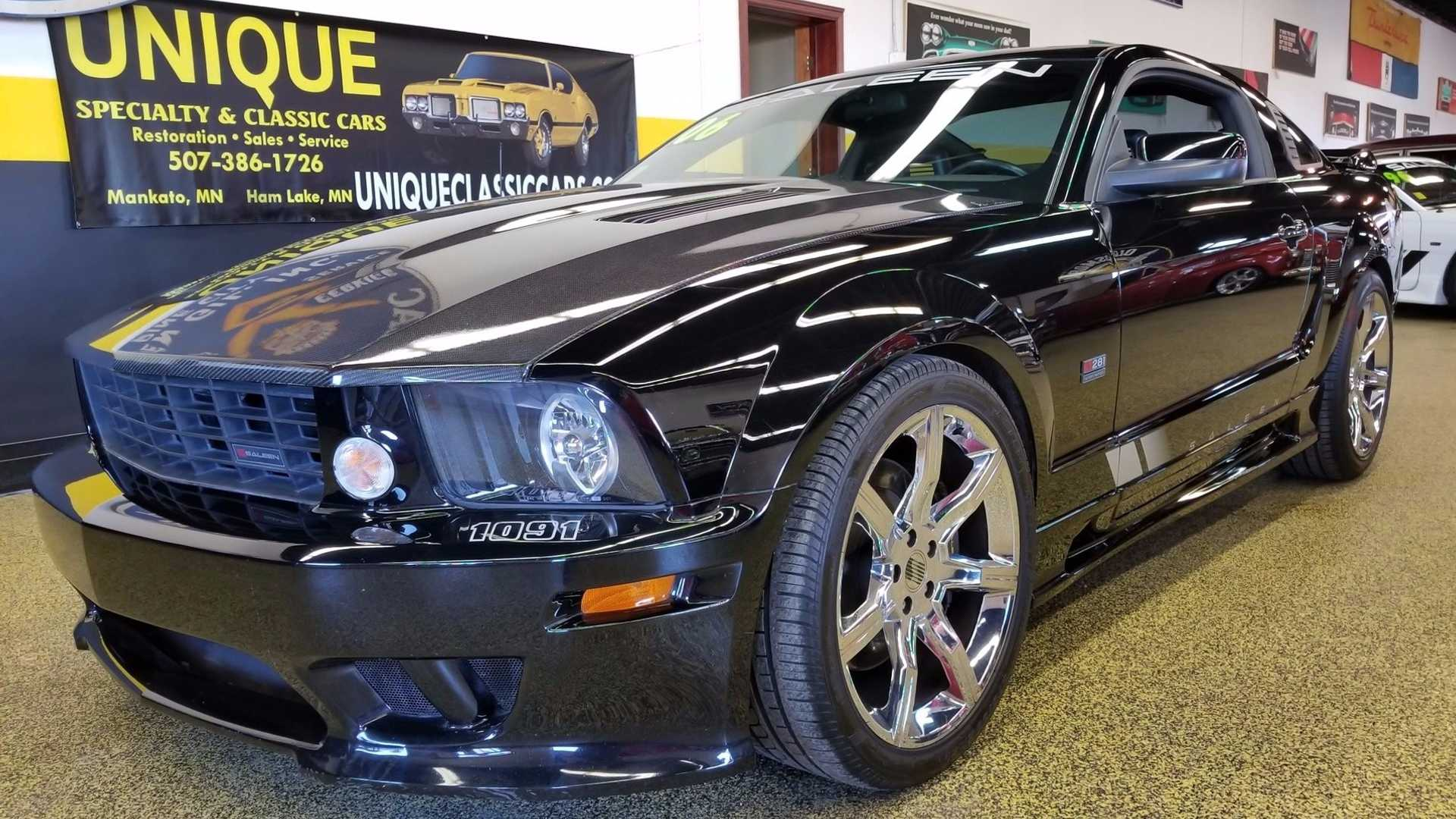 Who is brave enough to drive this s281 supercharged mustang motorious