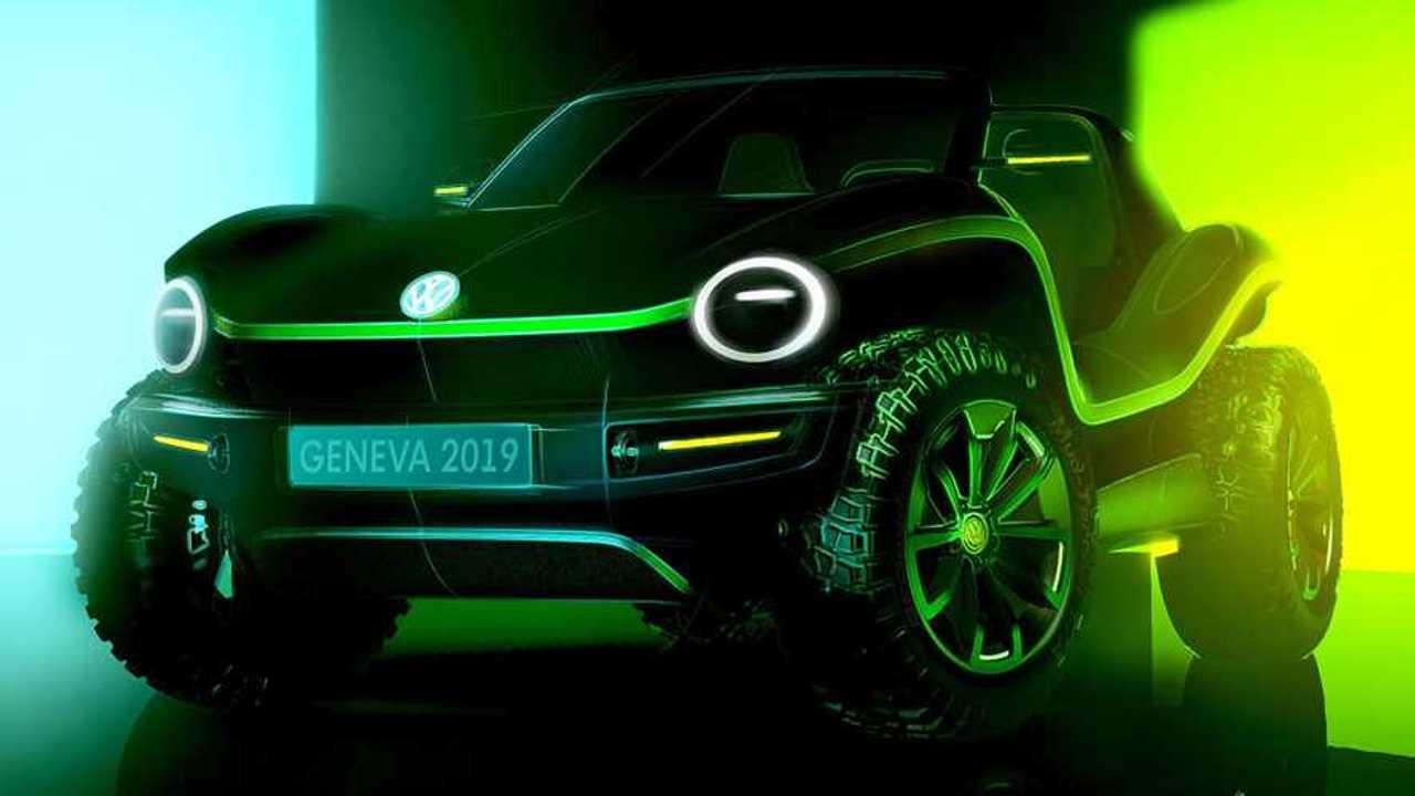 Volkswagen e-buggy concept 2019