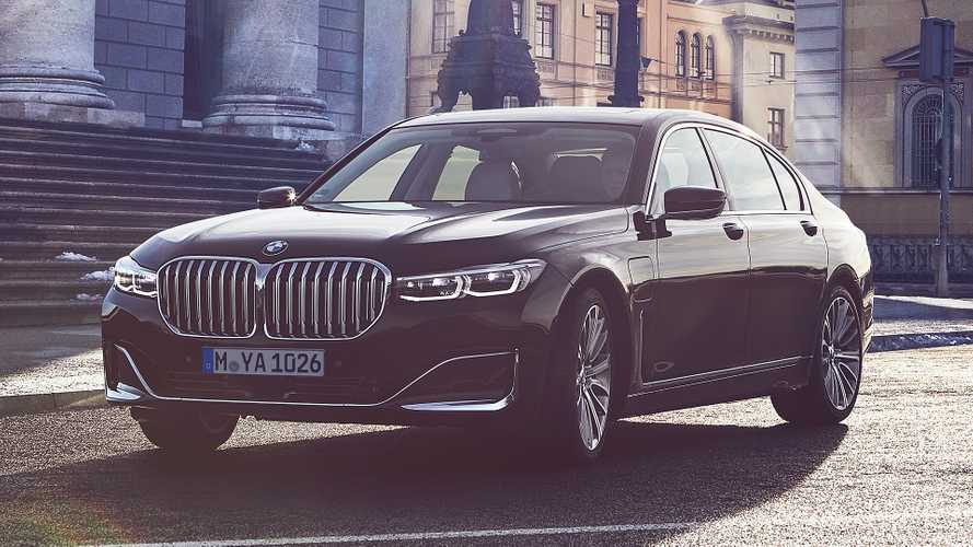 BMW 7 Series plug-in hybrid models