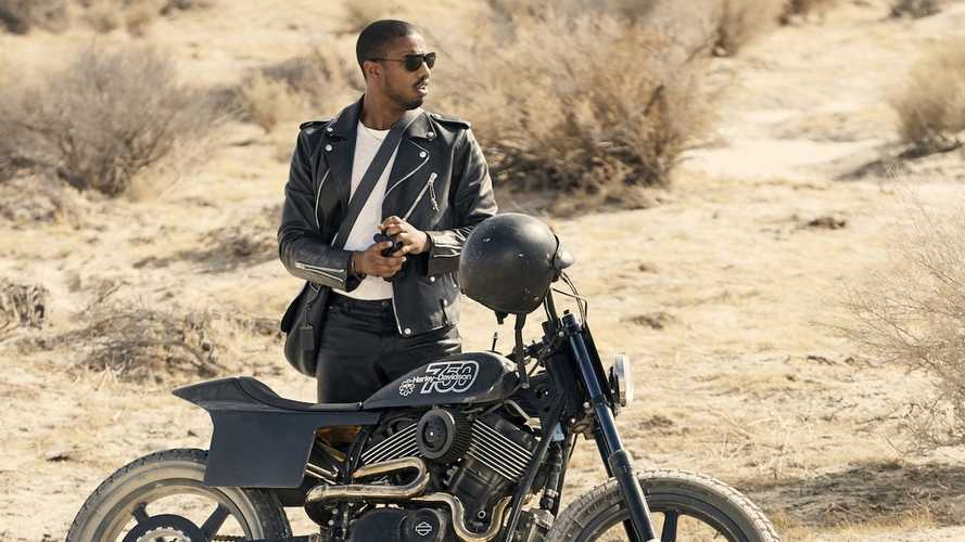 Michael B. Jordan Rides Into Fashion Fame On A Harley